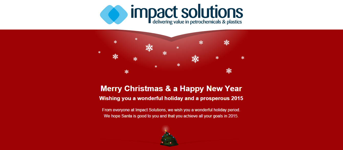 Merry Xmas from Impact Solutions