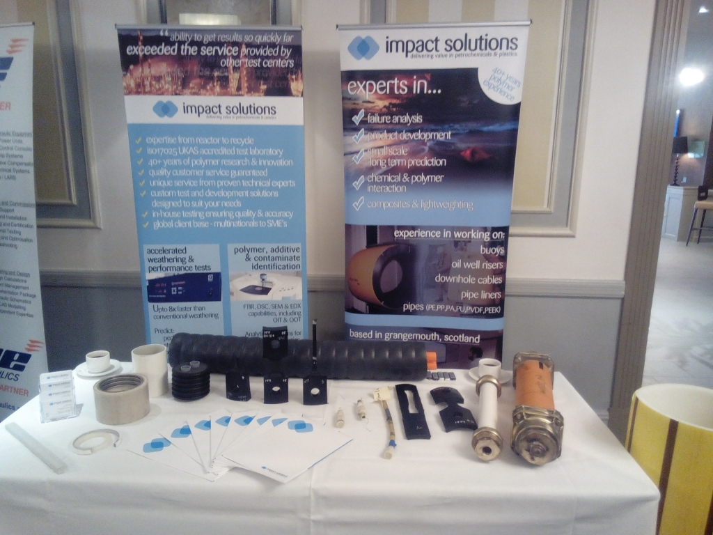 Impact exhibited at JDR cables event with NOF Energy