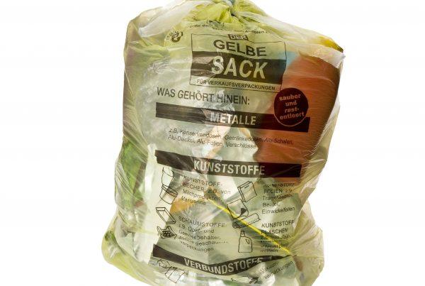bag & sacks testing - Der Gelbe Sack freigestellt-1