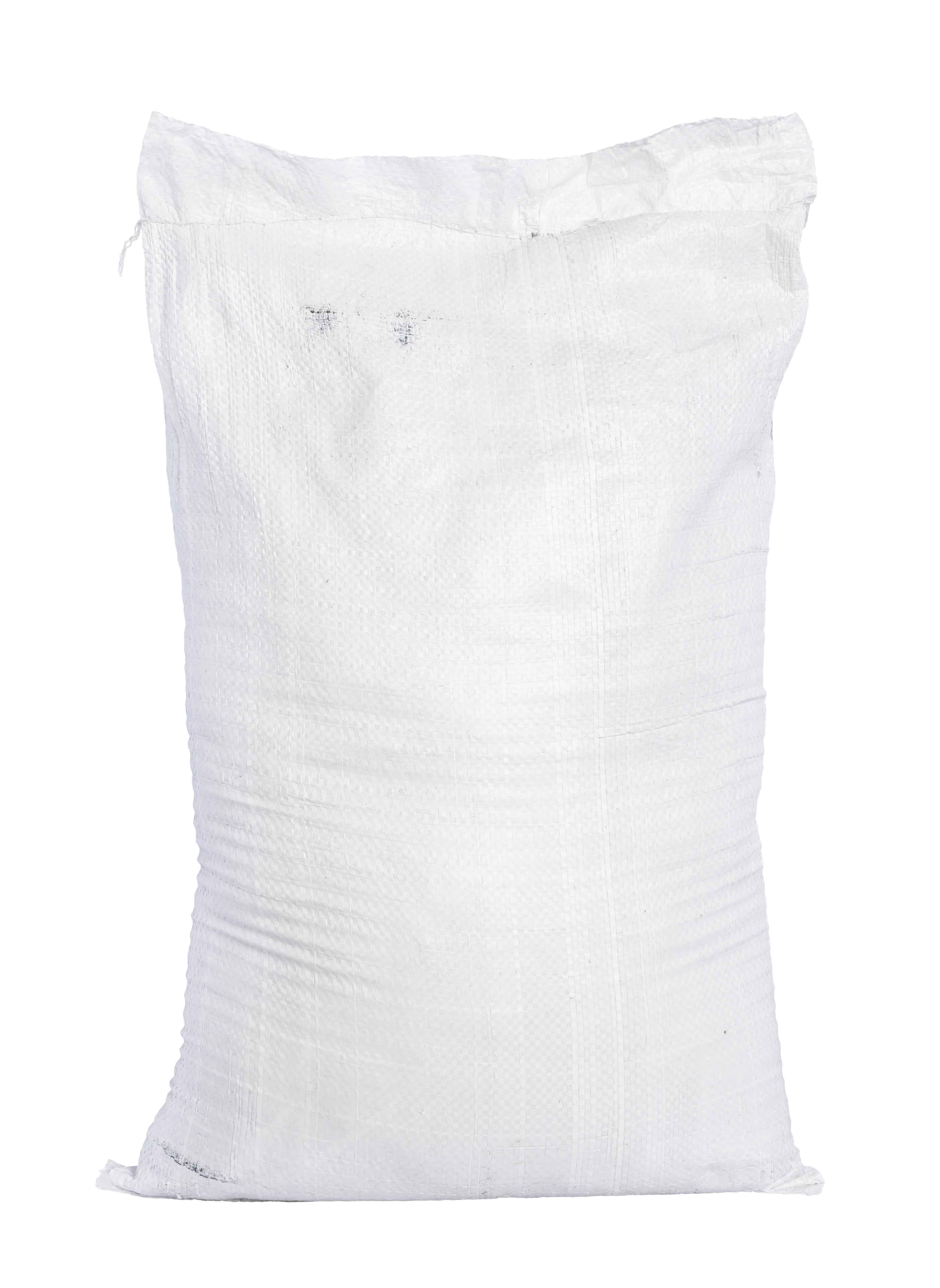 sacks testing - White canvas sack