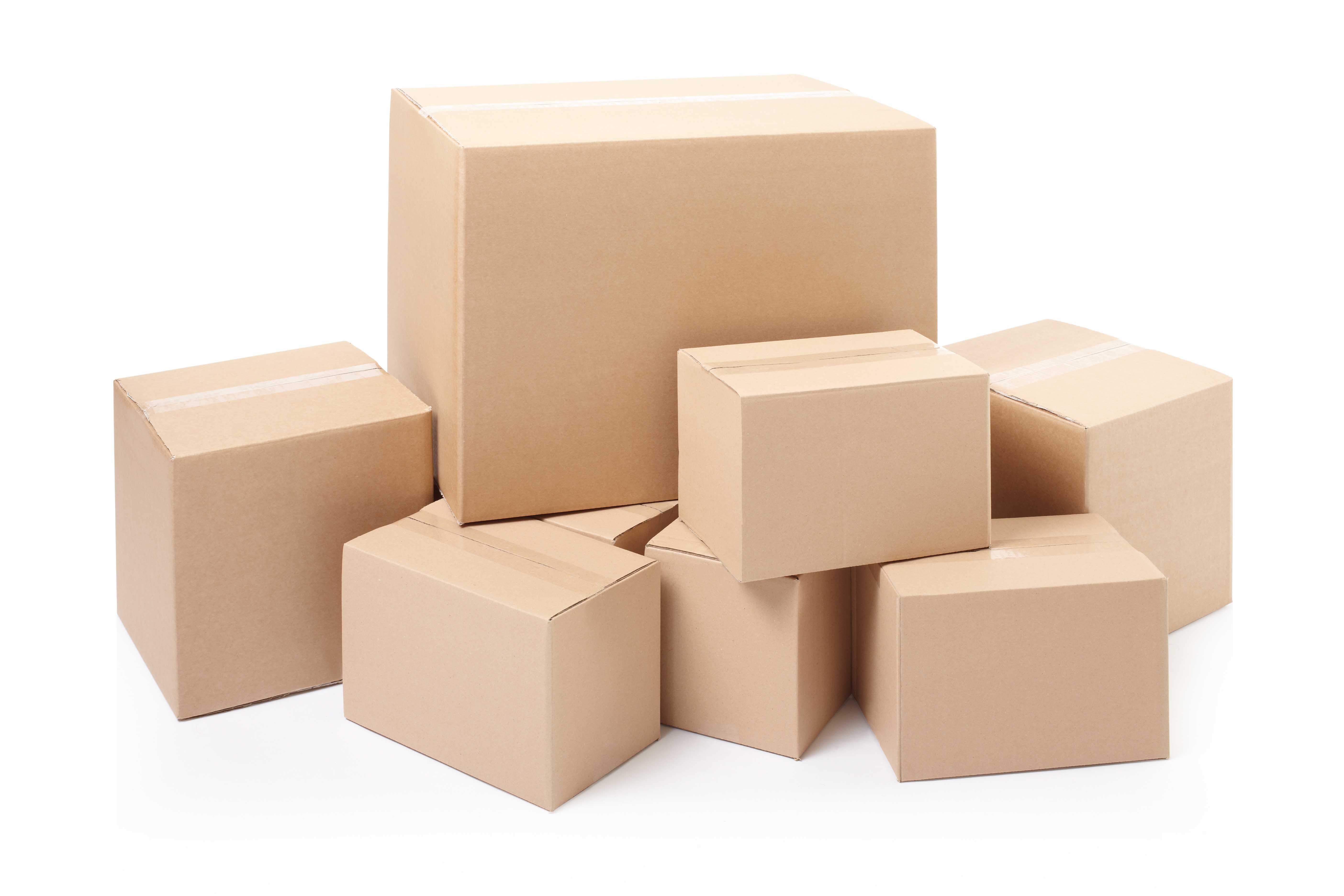 UN box - Cardboard boxes stack