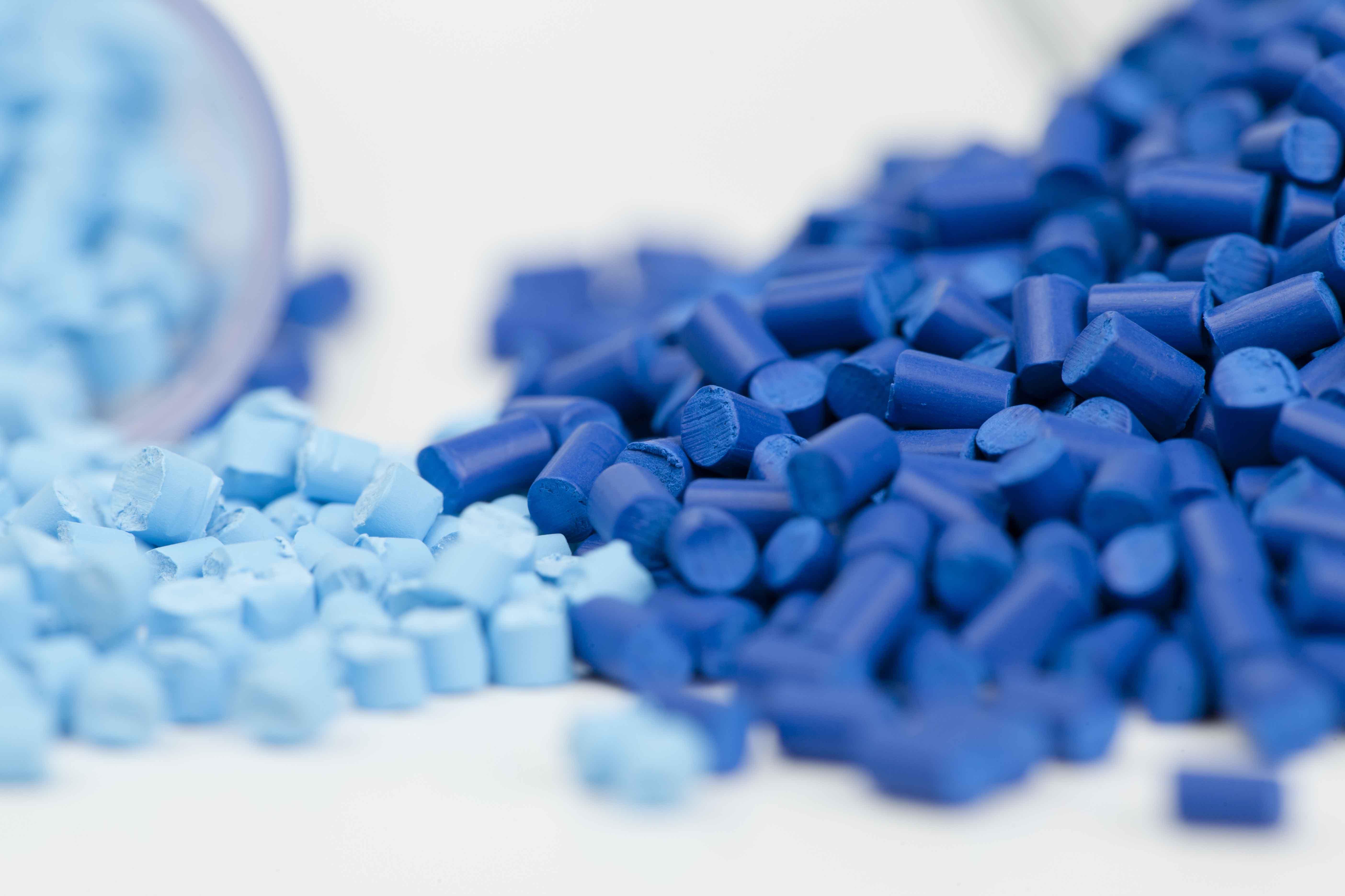 Materials development - plastic granules