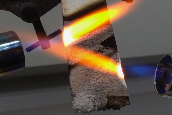 fire testing pe