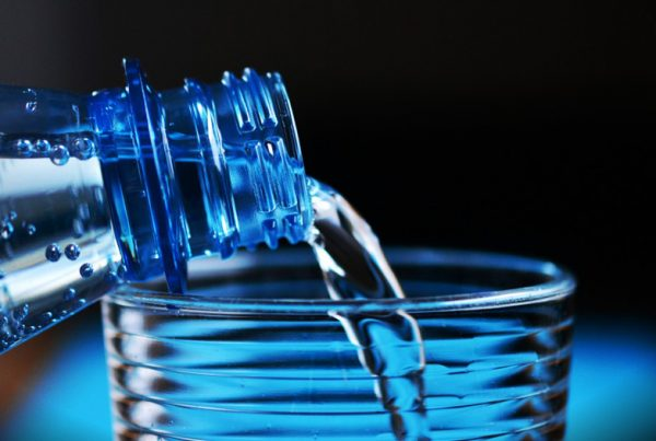 plastic in bottled water
