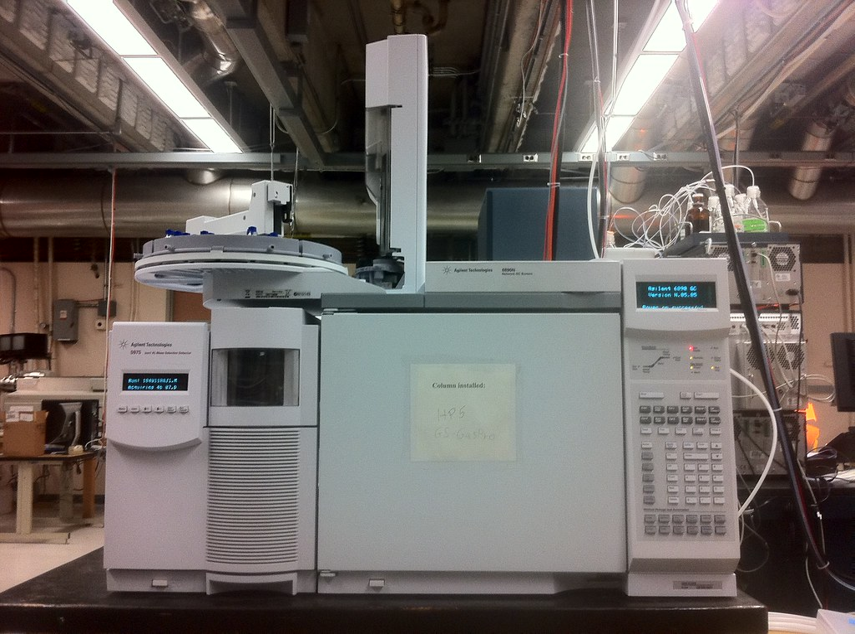 GCMS: Gas Chromatography/Mass Spectrometry