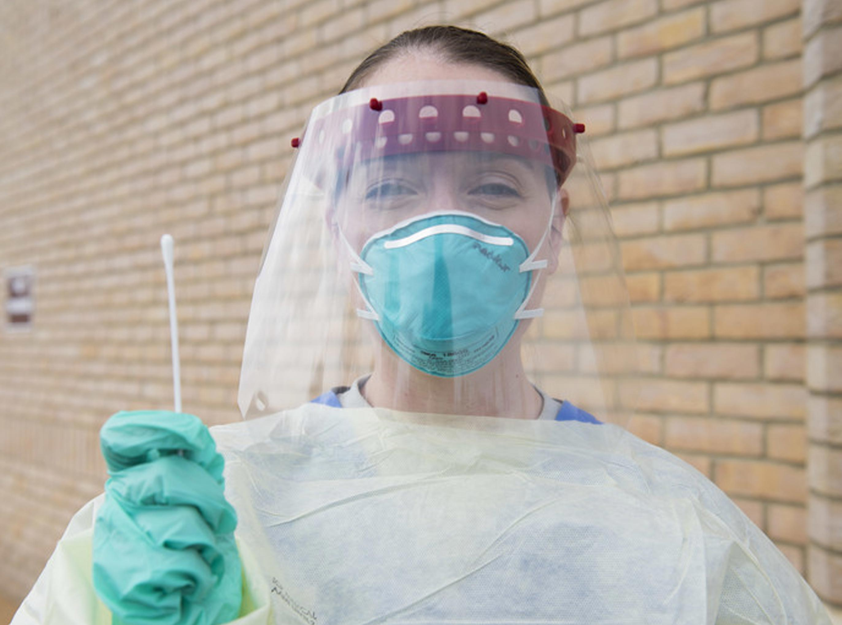 Plastic used for Healthcare PPE