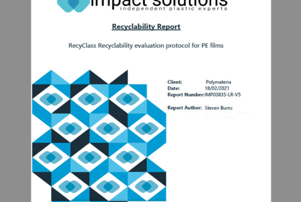 recyclability evaluation protocol for PE films