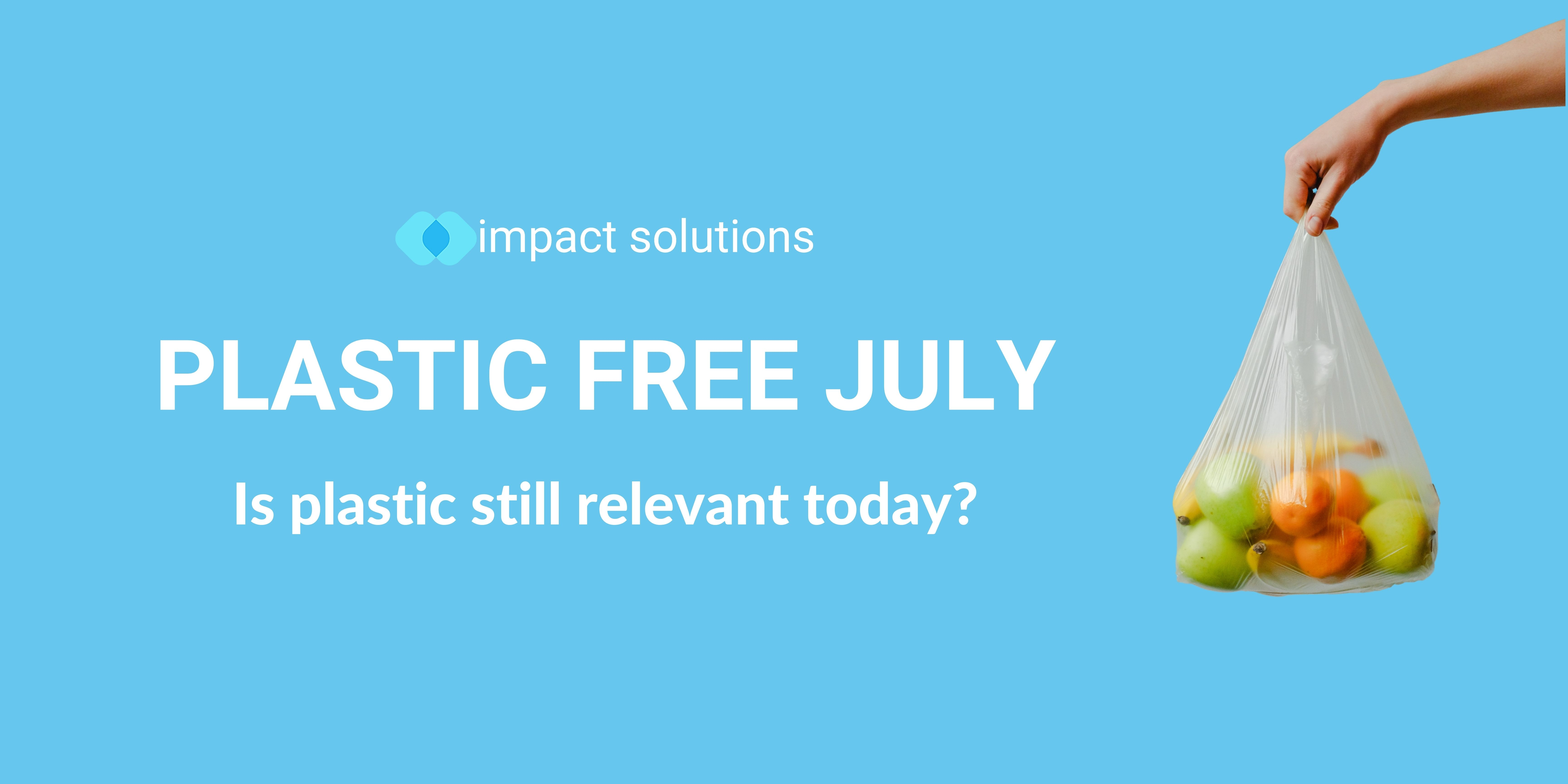 Plastic Free July: What you might not know about plastic